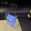 custom cheap crystal clear acrylic brochure box