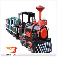 Most popular cheap kids outdoor toys trackless train games mini electric ride on train