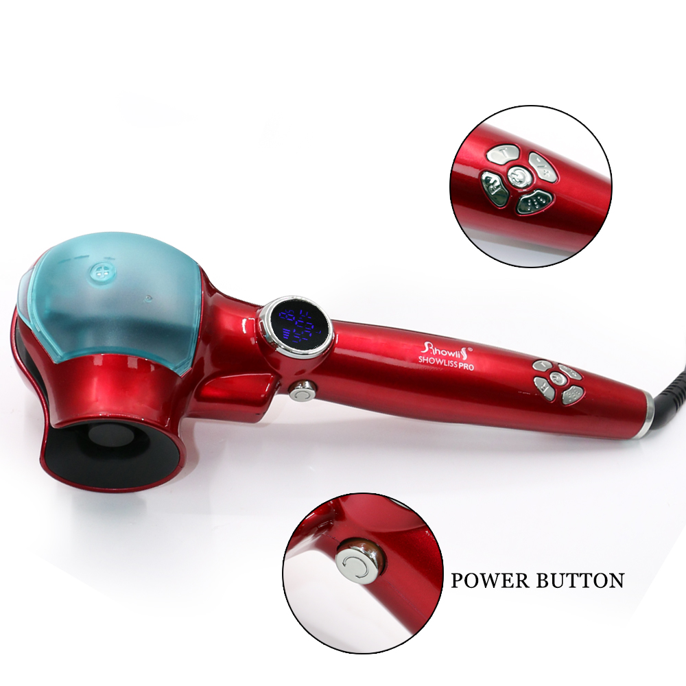 best quality Electric steam hair curling machine