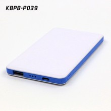 4000mAh Rechargeable Backup Charger Battery Pack Power Bank For iPhone For Sumsung Slim