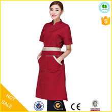 2015 OEM factory chinese restaurant uniform designs for reception
