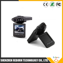 H198 Car Manual Camera hd DVR with 6 IR LED and 2.5 Inch 270 Degree Rotated Screen Night Vision Car Camcorder