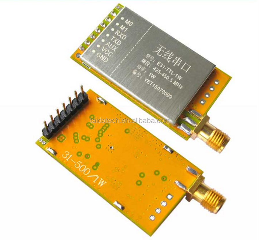serial radio station SI4438 4463 CC1101 high power AX5043 1W 433mhz rf wireless transceiver <strong>module</strong>