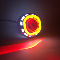 Colorful Brilliant Square Led Light Motorcycle