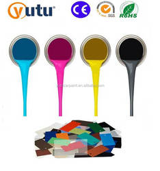 YUTU High quality waterproof car paint clear coat for car spray paint or paint coating and epoxy coating