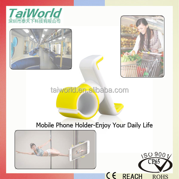 2016 Universal car holder firmly clamps onto handlebars of bicycles strollers and treadmills