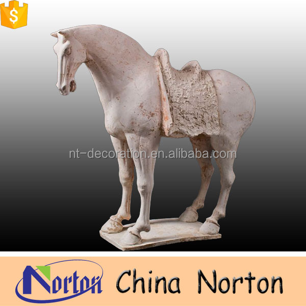 Antique marble horse statues for sale NTBM-H004Y