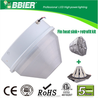 IP65 5 years warranty gas pump style globe lighting
