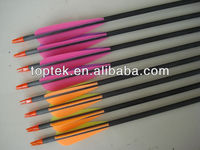 crossbow carbon arrow,carbon hunting arrows,target arrows for hunting