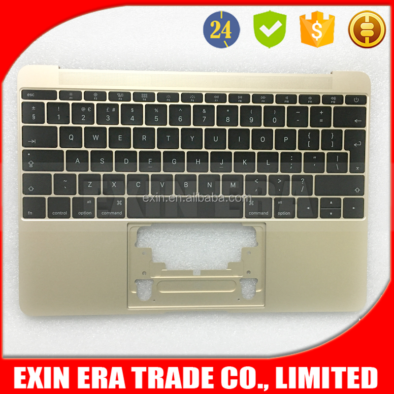"Genuine New A1534 Topcase With UK Keyboards For Apple Macbook 12"" A1534 Gold"