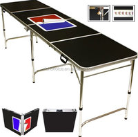 2015 new 8ft Beer Pong Table folding table