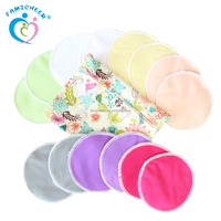 2013 White Washable Bamboo Breast Pad