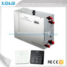 Touch Screen Control Panel Commercial Use Steam Generator for Shower Bath