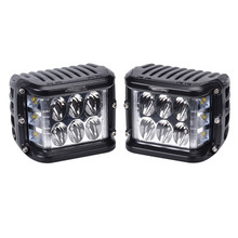 2018 New 45W Side Strobe Flash Led Work Light Driving Fog Lamp for 4x4Trucks Off-road Vehicles 12-36V 6000K