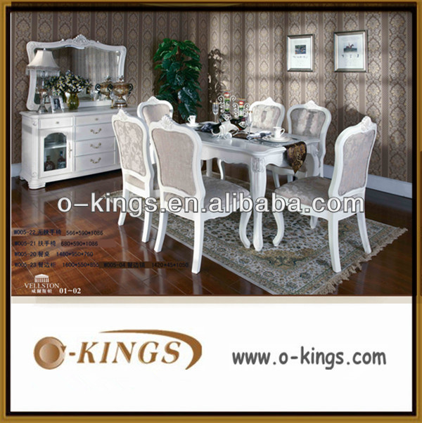 restaurant wooden dining table and chair