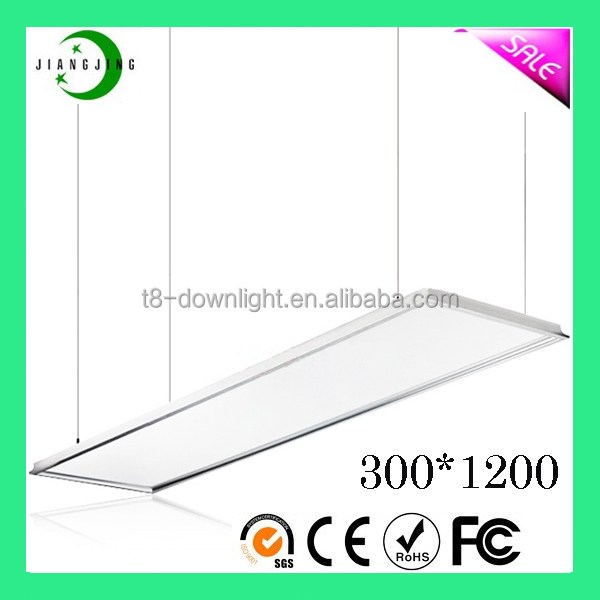 40w Hospital,office and home 1200*300 led squared flat panel light