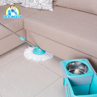 2016 New 360 Magic mop Foldable spin mop and Drawer type Stainless steel pole spin mop