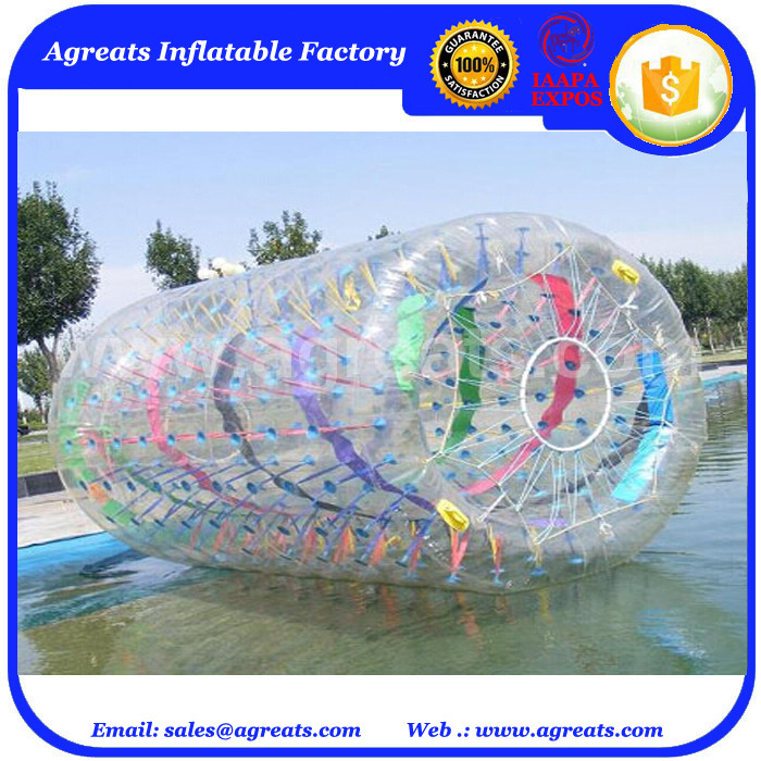 giant water hamster balls color strips inflatable water balls on sale GW7292