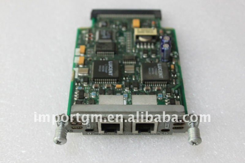 Original Cisco VIC-2FXS 2-Port Voice Interface Card