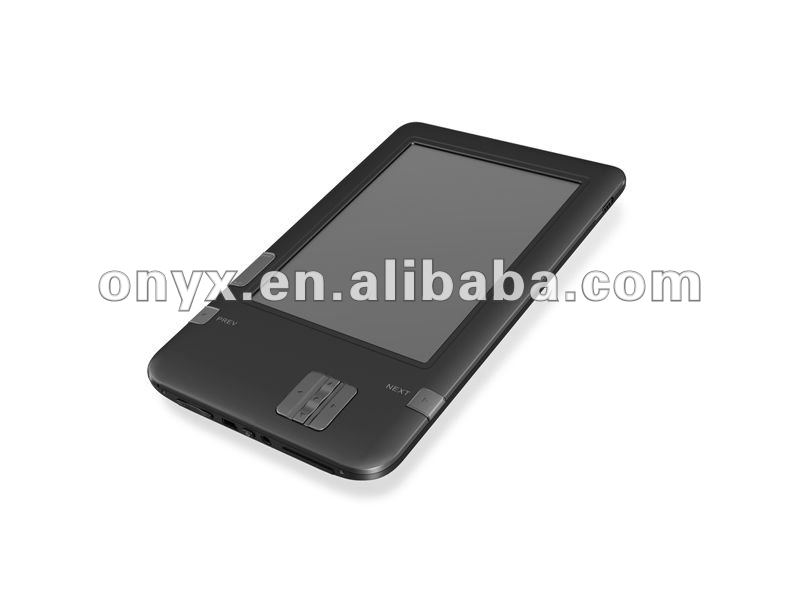 Customized with CE ROHS wifi 6 inch e-link Ebook reader