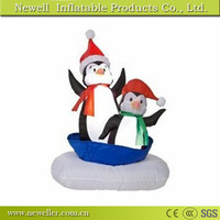 Cheap best selling inflatable dancing snowman for customer