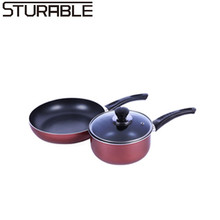 The Best Soup Stock Pots Type Aluminum Cooking Pot Set Cookware from Chinese Supplier