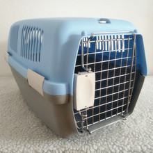 Pet Travel Box Comfortable Airline Approved Plastic Box Pet Transport Carrier