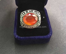 Cheap custom football championship rings trophy ring deep engraved words high quality