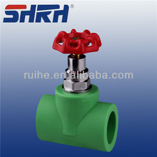 Export high quality ppr pipe fittings STOP VALVE