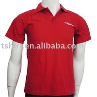 2013 new design embroidery promotional polo shirts for men