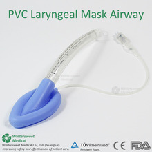 laryngeal mask airway CE ISO hot in mexico silicone or PVC