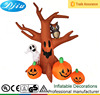 DJ-209 Inflatable Halloween Tree Pumpkin Ghost Front Yard Decor LED Light Characters