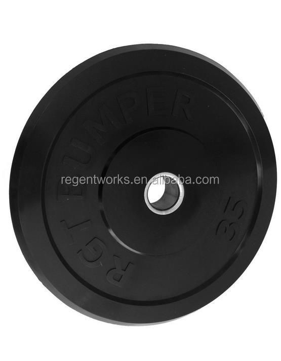 Wholesale weight lifting used rubber bumper weight plate for sale