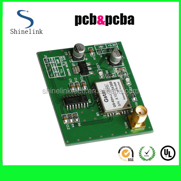 SIM900 GPS Tracking PCB assembly for car alarm PCBA board