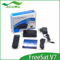New product!!! Original Freesat V7 1080P FULL HD DVB-S2 super mini satellite tv receiver support
