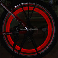 Bicycle Bike Cycling Motorcycle Wheel Spoke LED Color Flash Light Lamp 3 Mode