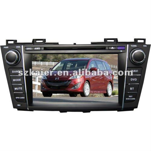 car dvd gps navigation and car dvd auto radio for Mazda 5