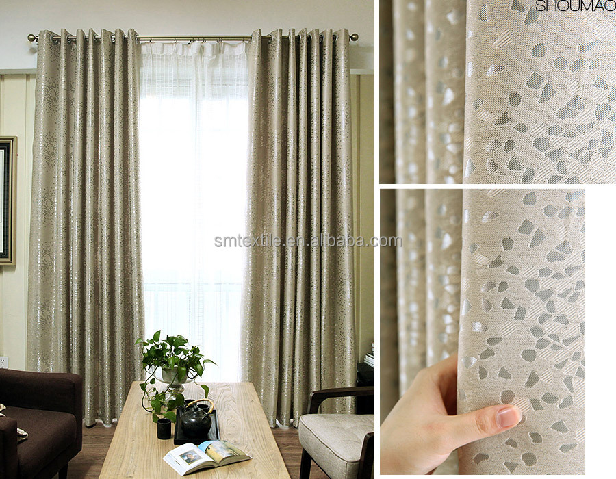 Latest Curtain Designs Hotel Blackout Fabric For Curtain
