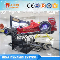 Best Seller game machine 3 screens F1 car simulator price 4d driving F1 car driving simulator