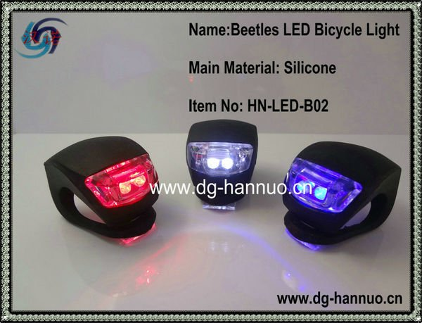 Gorgeous White and red color cree led bike light,led light bmx bikes,dirt bike led light