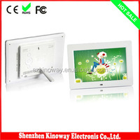 10 inch TFT LCD digital screen digital photo frame with motion sensor support remote control and button control 2 options