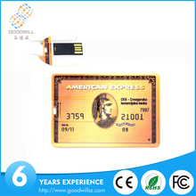Promotional bank/ credit/business card usb with factory price
