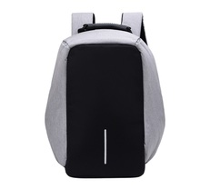 high quality waterproof reflective laptop bag anti theft school backpack with usb charger