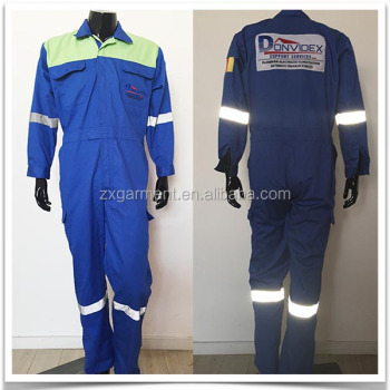 Customization Service Station Maintenance Technician Wholesale Durable Custom Embroidered Coveralls