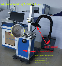XG laser marking machine for metal tag,nameplate