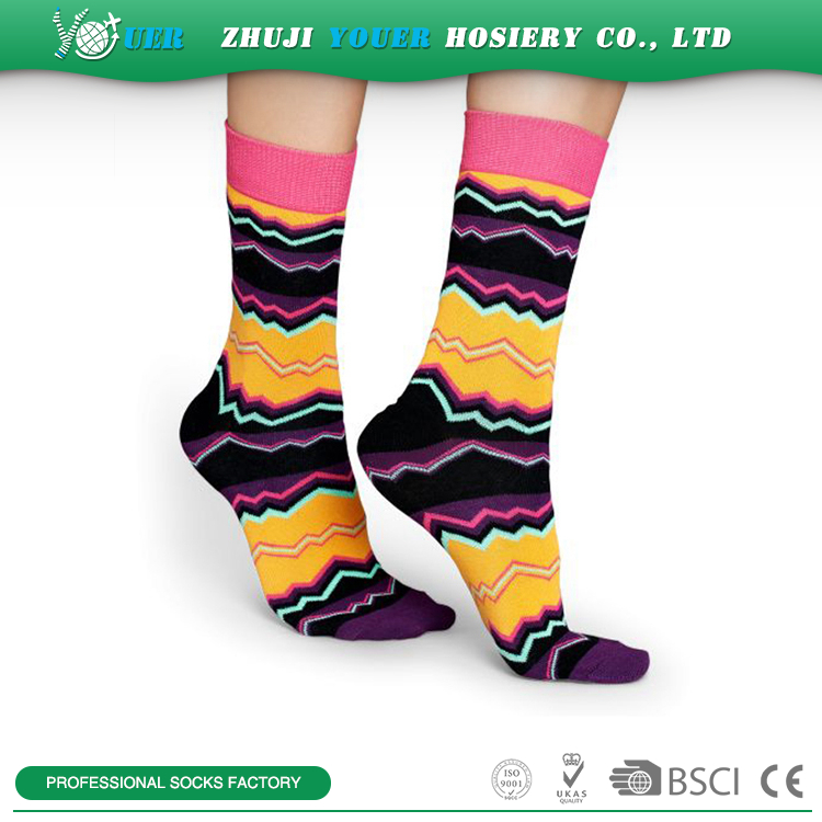 YR-0240 fancy socks for women