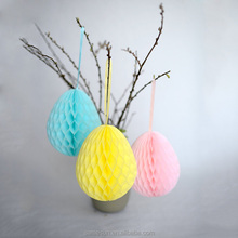 Easter Egg Honeycomb Paper Decoration
