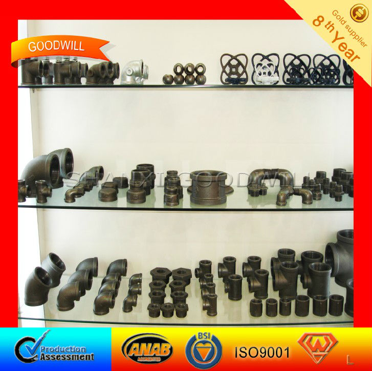 G.I. Fittings Galvanized Fittings Malleable Iron Pipe Fittings-SHANXI GOODWILL