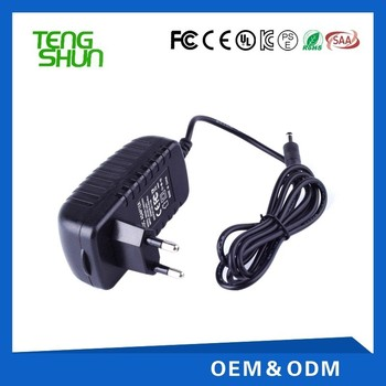 cheap ce ul saa kc listed 12v wall mount ac dc adapter 220v to 12v 2a