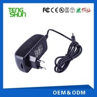 wall mount cheap ac dc power adapter 110v 220v to 9v 2.5a 12v 2a 24v 1a